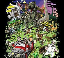 Jurassic Park - All Characters Design by TylerMellark