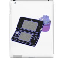 Nintendo DS and succulents - black iPad Case/Skin