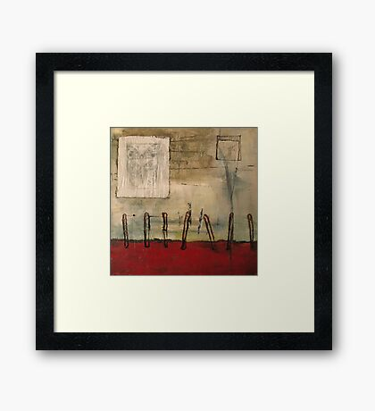 snag (property line) Framed Print