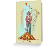 Season of Fall Greeting Card