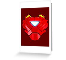 The Avengers - Ironman Armor Greeting Card