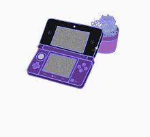Nintendo DS and succulents - purple Unisex T-Shirt