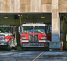 BInghamton Central Fire Station by GPMPhotography