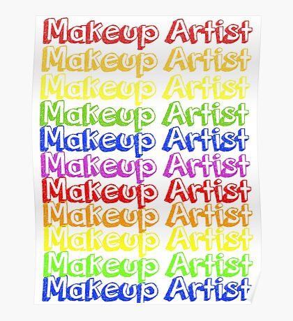 MUA Repeat - Rainbow Poster