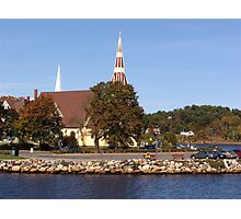 St. James Anglican Church-Mahone Bay Photographic Print