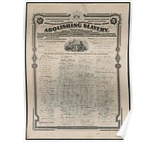 Anti-Slavery Posters and Products Poster