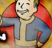 Fallout Battle Standard Sticker