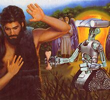 M Blackwell - Adam and Eve Refuse the Robot's Dog-Bone by IWML