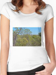Gingin Western Australia Women's Fitted Scoop T-Shirt