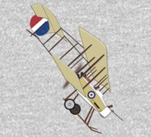A Royal Flying Corps Vickers F.B.5 T-shirt by Dennis Melling