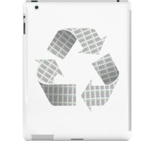Recycle Newspaper Symbol iPad Case/Skin