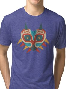 A Legendary Mask Tri-blend T-Shirt