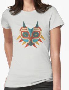 A Legendary Mask Womens Fitted T-Shirt