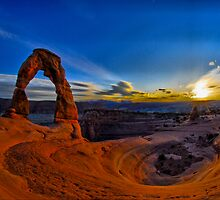 Delicate Arch HDR by Josh Myers