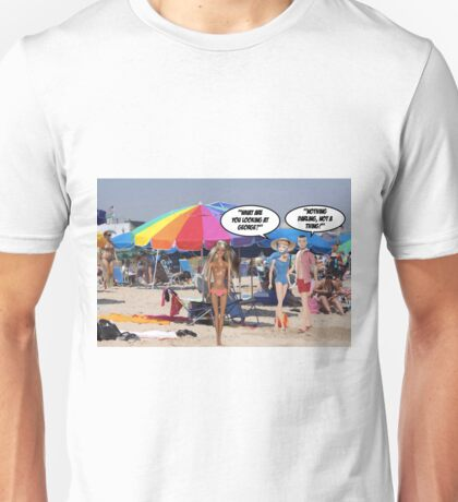 What Are You Looking At George? Unisex T-Shirt