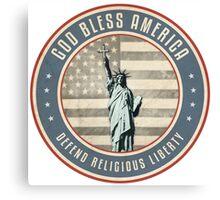 Defend Religious Liberty Canvas Print