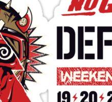 Defqon 1 2015 - No Guts No Glory - 2 Sticker