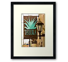 Tequila Framed Print