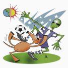 alien soccer by redboy