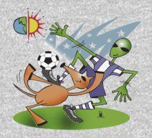 alien soccer One Piece - Short Sleeve