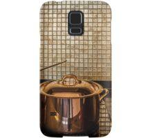 golden luxury kitchen cookware Samsung Galaxy Case/Skin