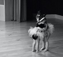 Little Ballerinas by Ed Luschei
