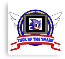 Tool of the Trade - Extra Life (Sonic) Canvas Print