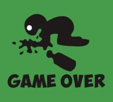 game over puke drunk cartoon funny by huggymauve
