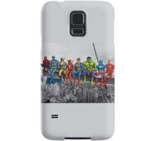 Superheroes on Girder Samsung Galaxy Case/Skin