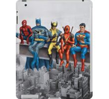 Superheroes on Girder iPad Case/Skin
