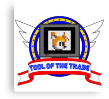 Tool of the Trade - Extra Life (Tails) Canvas Print