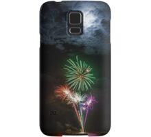 Full Moon Fireworks Samsung Galaxy Case/Skin