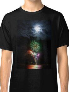 Full Moon Fireworks Classic T-Shirt