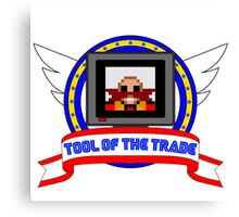 Tool of the Trade - Dr. Robotnik's Trap! Canvas Print