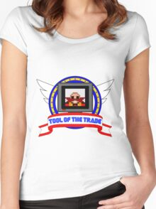 Tool of the Trade - Dr. Robotnik's Trap! Women's Fitted Scoop T-Shirt