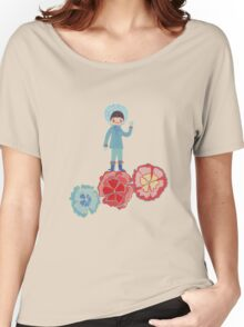 eskimo Flower Women's Relaxed Fit T-Shirt