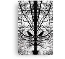 The watchmen of the woods Canvas Print