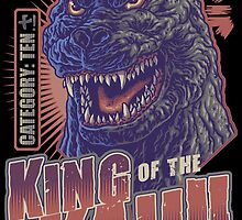 King of the Kaiju - Redux by cs3ink