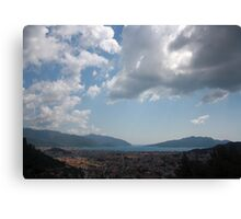 Sunshine, Clouds and Shadows Over The Bay Of Marmaris Canvas Print
