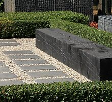 modern garden bench by mrivserg