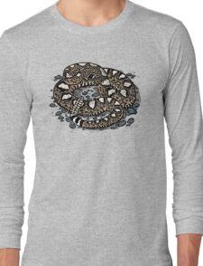 Rattlesnake! T-shirt Long Sleeve T-Shirt