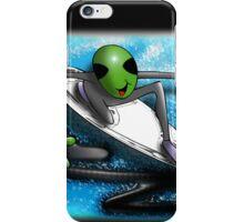 alien surf iPhone Case/Skin