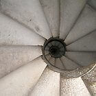 Snail shell staircase - Barcelona, Spain by Nupur Nag