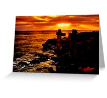 """Wye River Gold"" Greeting Card"