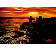 """Wye River Gold"" Photographic Print"