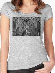 Wells Cathedral Women's Fitted Scoop T-Shirt