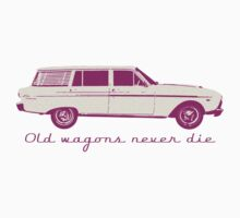 """XM Wagon  """"Old wagons never die""""  Kids Clothes"""