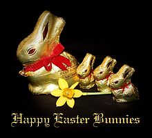 Chocolate Easter Bunnies by AnnDixon