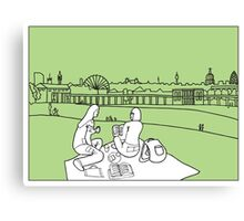 Sketches of London 'Greenwich Park' Canvas Print