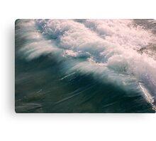 Atlantic Ocean Coming In Canvas Print